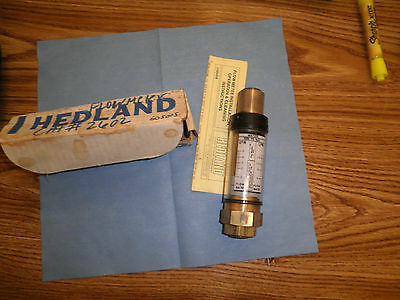 Hedland Part Number 605005 Direct Reading In-line Flow Meter. 3000 Psi Max W