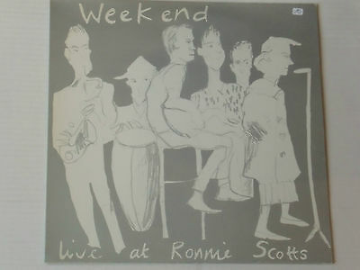 WEEKEND -Live At Ronnie Scotts- LP