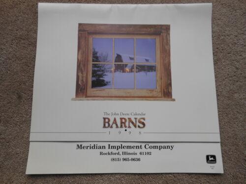 John Deere 1998 Calendar Barns NICE NOS NEW Old Stock