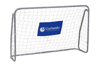 COPPIA PORTE CALCIO GARLANDO CLASSIC GOAL180X120 CON BERSAGLI