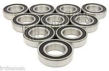 10 Bike Wheel//Axle Ball Bearings 6803-2RS Sealed VXB
