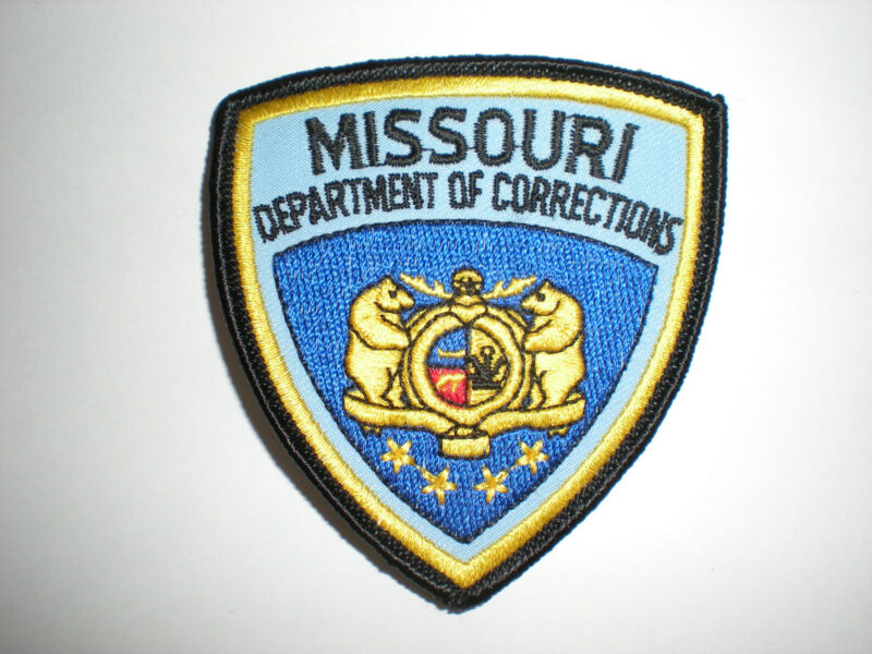 MISSOURI DEPARTMENT OF CORRECTIONS PATCH - SMALL