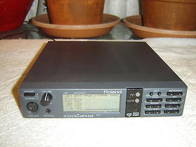 Roland SC-55, Sound Canvas, Midi Sound Generator, Sound Module, Vintage Unit for sale  Shipping to India