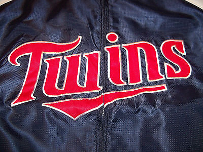 MINNESOTA TWINS LOGO MAJESTIC TRAINER JACKET MENS SIZE 3XL (Majestic Trainer Jacket)
