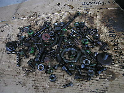 John Deere 50 Gas Rowcrop Tractor Box Jd Nuts Bolts Springs Misc Parts Pieces