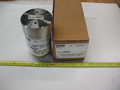 Parker Finite Instrumentation Coalescing Filter 6ts-s1m-2c10-2-025 S.s. Nib