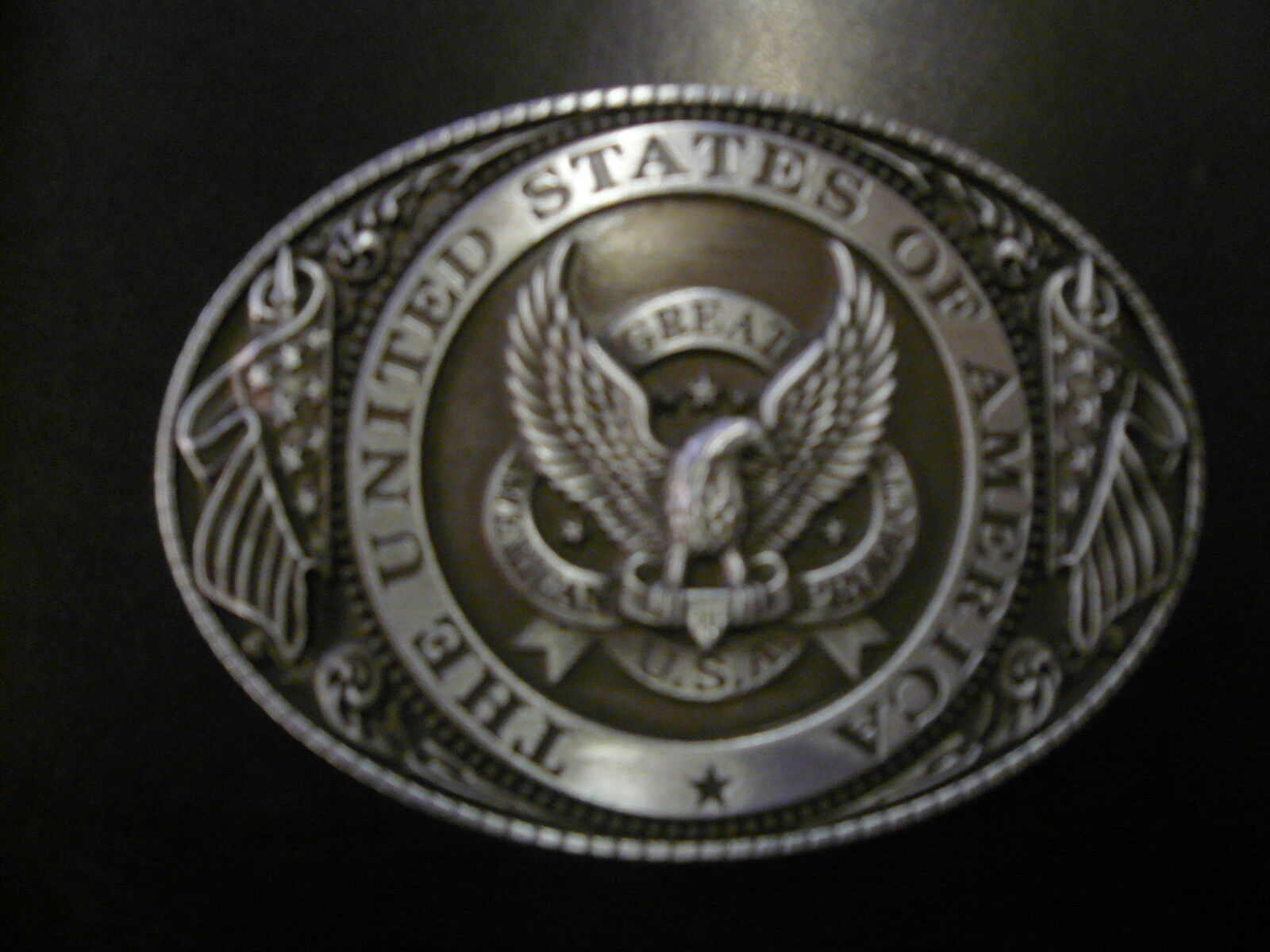 Buckle - Gürtelschnalle USA UNI