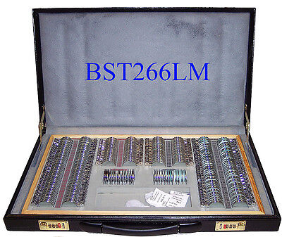 266 Pcs Optical Trial Lens Set Metal Rim Leather Case - High quality - Brand New for sale  Fairfield