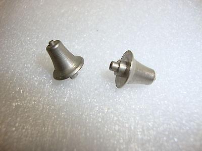 Lionel Prewar #392-45 Standard Gauge 385E 1835E 392E Bell Nickel 2pcs MINT NR