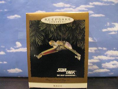 Hallmark Star Trek Klingon Bird of Prey Mint in box 1994 Christmas Ornament