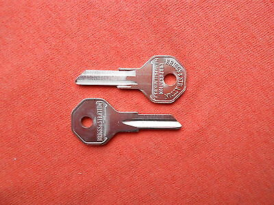Used, 2 JEEP WILLYS KAISER BRIGGS & STRATTON GRV14 NOS KEY BLANKS 1947 - 1972 for sale  Sevierville