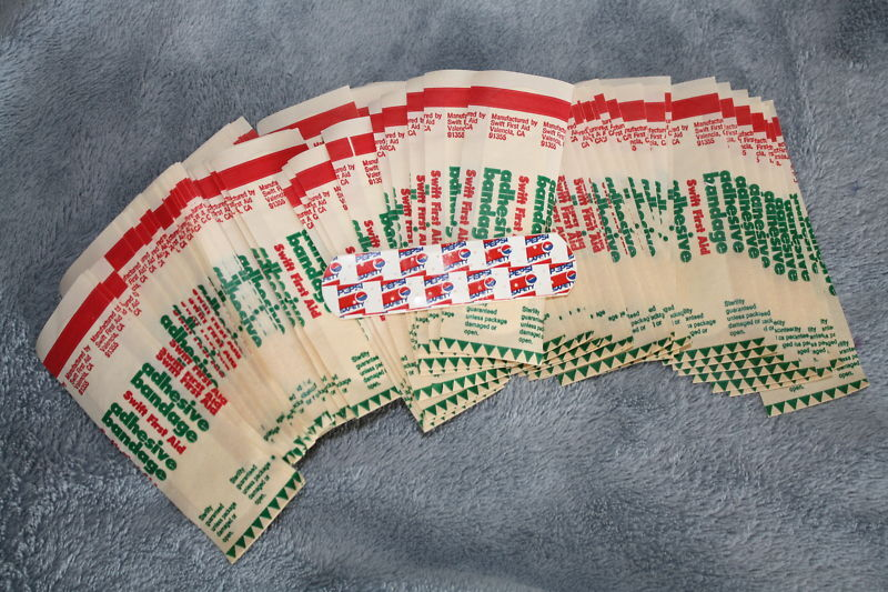 Pepsi Safety Band aid LOT OF 100 Promo collectible