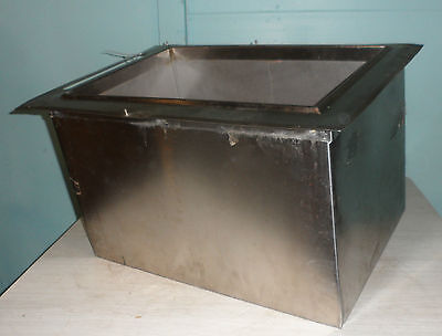 Hd Commercial Booth Inc. Insulated Drop-in 8 In8 Out Cold Plate Ice Bin