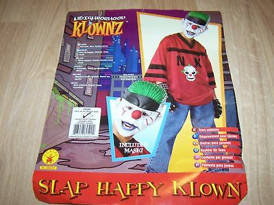 p Happy Klown Gangster Clown Halloween Costume with Mask New (Happy Clown Halloween-kostüme)