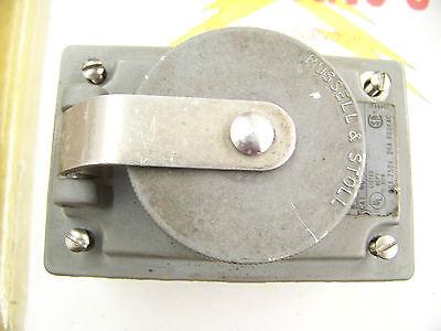 T B Russellstoll 3754x Ever-lock Pinsleeve Receptacle Box 30 Amp 250 Volt