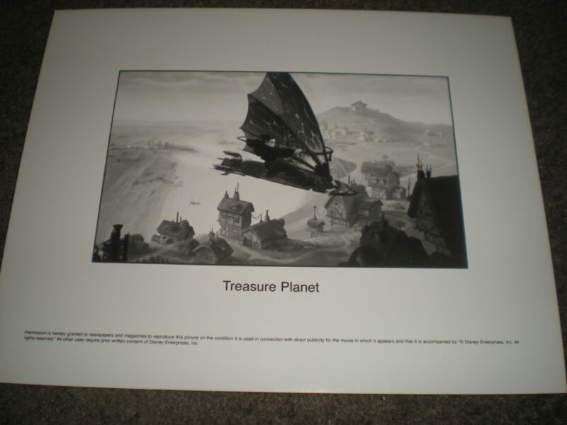 TREASURE PLANET - ORIGINAL PUBLICITY STILL