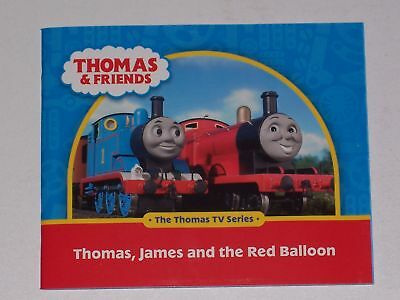 THOMAS & FRIENDS - THOMAS, JAMES AND THE RED BALLOON BOOK - Thomas And Friends Balloons