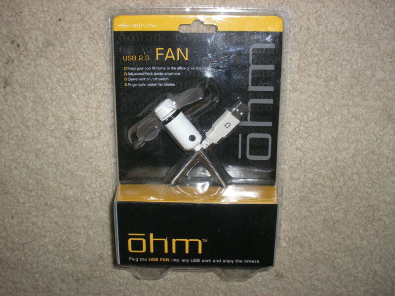 New ohm USB 2.0 Fan Computer Fan