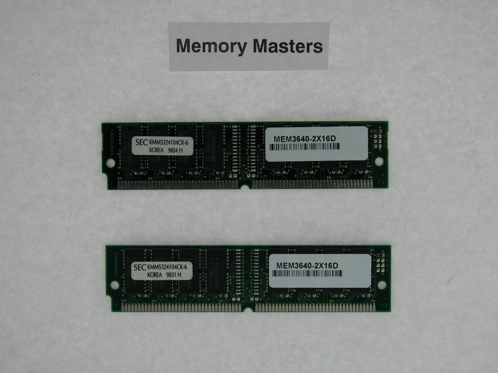 MEM2821-256U1024D 2x MEM2821-512D Cisco 2821 1GB ECC Router Memory