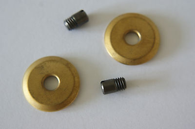HM - Schneidrädchen, Ersatzrädchen 20mm Titan mit Achse für HUFA, Heka 1 Stck