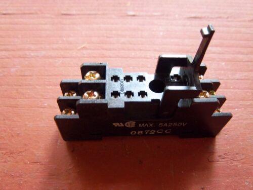 Omron P2RF-08 Relay Base Socket 5 Amp 250VAC 8-Pin