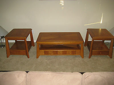 3-Piece Living Room Coffee / End Table Set - , LOOK!!!!!!