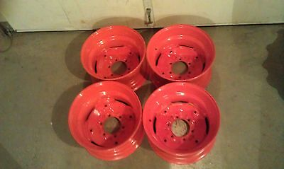 4 Wheelsrims For Bobcat M444 M500 M600 M610-16.5x8.25x6 Fit 10-16.5 Tires