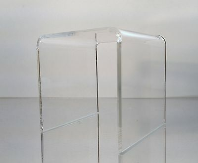 Clear Acrylic Square Riser Display Stand 6 X 6 X 6