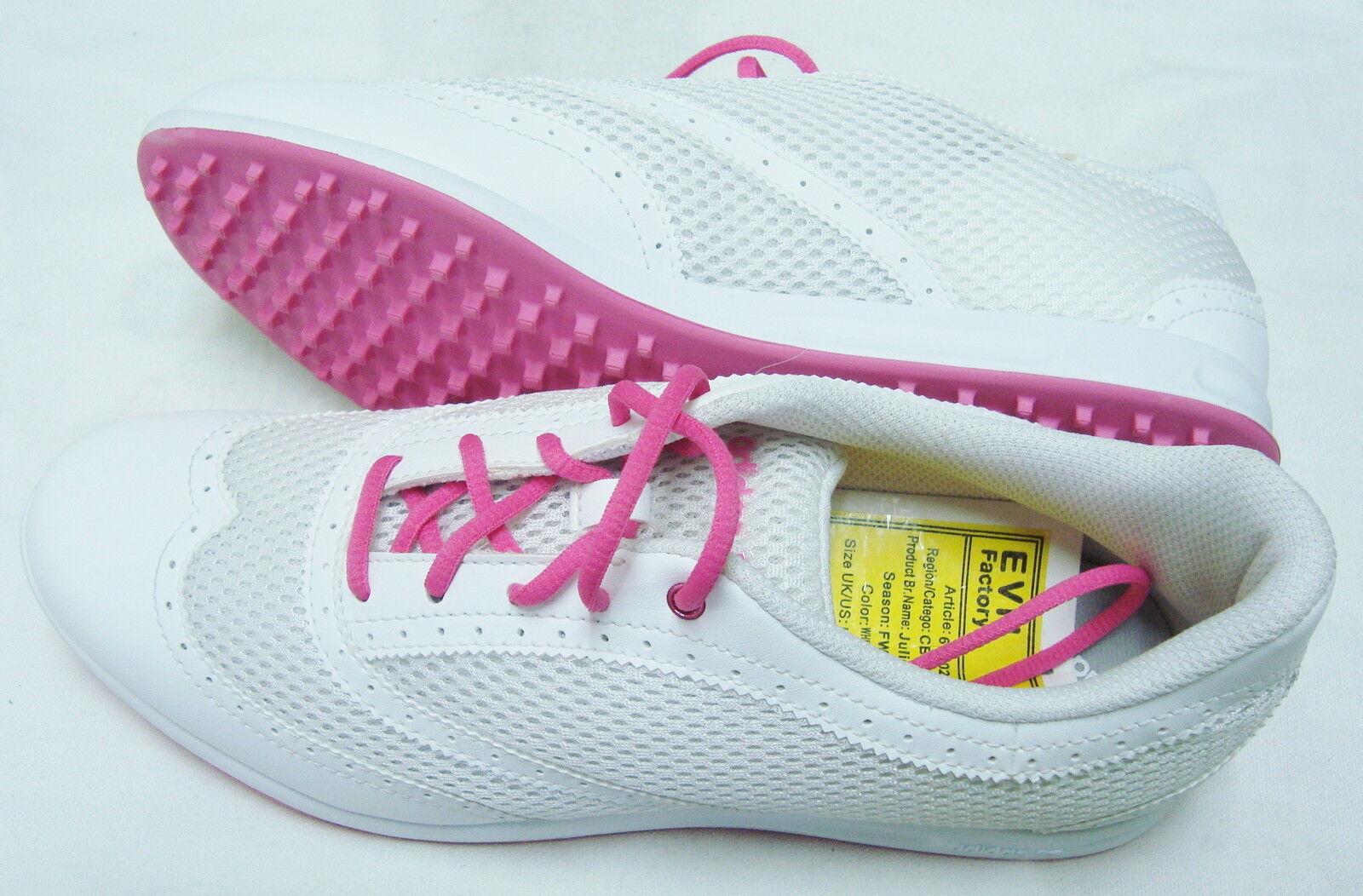 """Νέο παπούτσια Golf Γκολφ Ξ""""Ο…Ξ½Ξ±ΞΉΞΊΟŽΞ½ Adidas Julie 7 Medium 676029 Ξ›Ξ΅Ο…ΞΊΟŒ / Αο"""