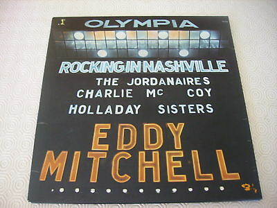 Usado, EDDY MITCHELL OLYMPIA ROCKING IN NASCHVILLE ANNEE 1975 - POCHETTE OUVRANTE comprar usado  Enviando para Brazil