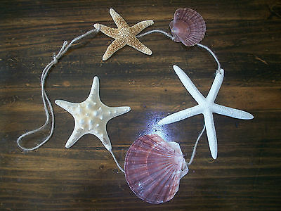 "Разное 42"" Multi Seashell Starfish Hanging"