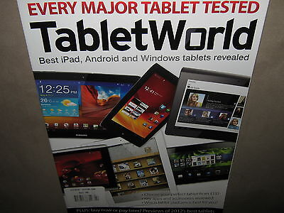 NEW! TABLET WORLD Complete Guide Every Tested Best iPAD ANDROID WINDOWS