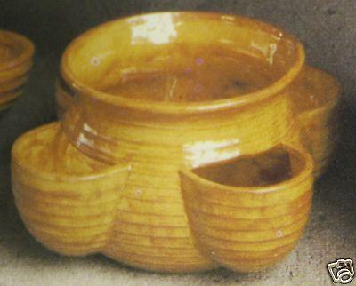 Ceramic Bisque Planter Strawberry Pot Small Scioto 65 U-Paint Ready To Paint