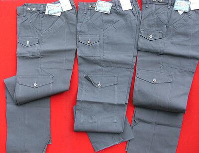BOY SCOUT VENTURE SCOUT UNIFORM PANTS BRANDNEW IRREGULARS, GRAY, COTTON PANTS