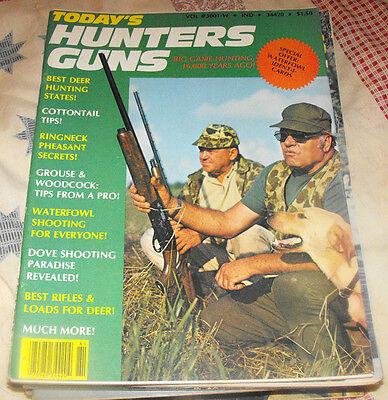 TODAY'S HUNTERS GUNS WINTER 1977 MAGAZINE BEST DEER HUNTING