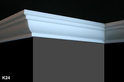 20 m + 4 Ecken Styroporleisten Stuckleisten Zierleisten Zierprofile Stuck K24