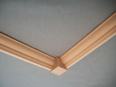 "Crown Molding Corner Block 1/2""  10pc MW1039 basswood trim molding 1/12 scale"