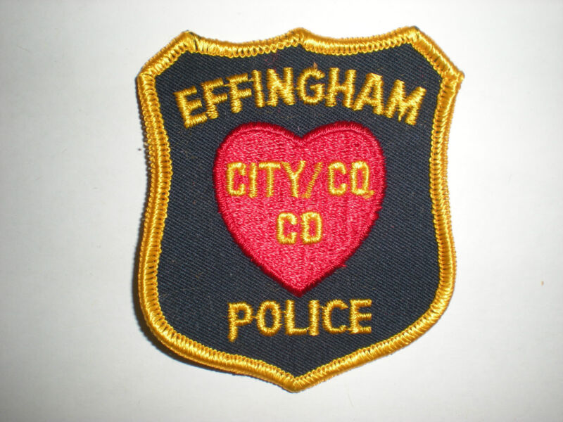 EFFINGHAM, ILLINOIS POLICE DEPARTMENT PATCH