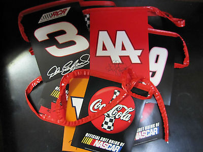 Lot of 5 Coca-Cola Nascar Racing Flag- NEW  FREE SHIPPING