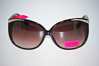 NWT Betsey Johnson Oval Shaped Sunglasses with Stars and Squares on Temple](Star Shaped Sunglasses)