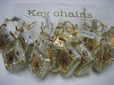 Lot of 12 New Holy Bible Key Chain / Religious Key Chain / Free Shipping