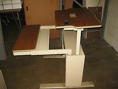 Vintage 30 Commercial Office Computer Desk Adjustable Work Station