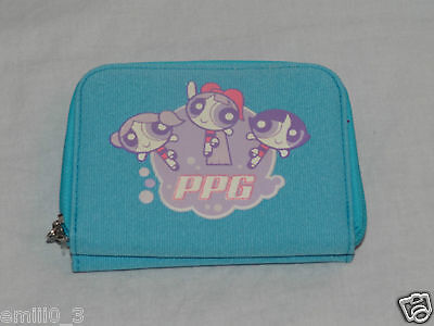 NEW WITH TAGS  BLUE BUBBLES  POWERPUFF GIRLS COIN WALLET  - Bubbles Powerpuff Girls