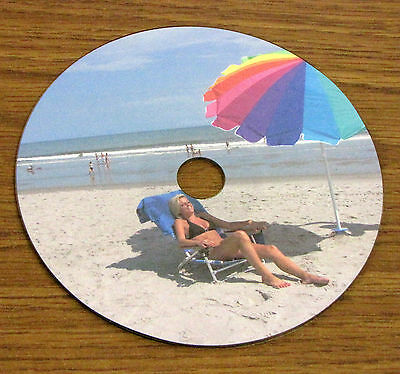 Cd Dvd Blu-ray Full Face Matte Disc Labels 50 Sheets 100 Labels 2 Up 4060m