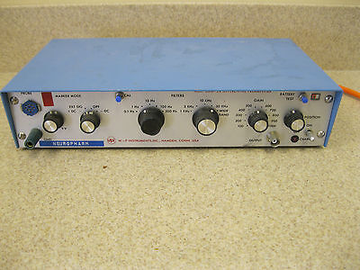 Wpi Model Dam-5a Differential Preamplifier