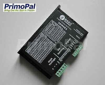 Leadshine 3dm683 3 Phase Digital Stepper Motor Driver 20-60vdc 0.5-8.3a