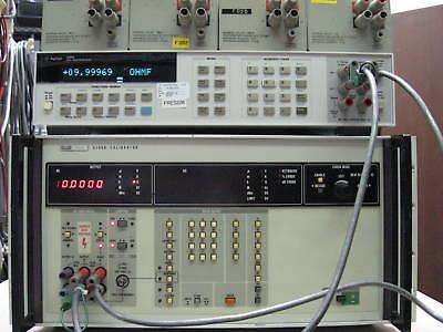Fluke 5100b5101b5200a5220a5440b Repair Calibrateddata Cert.