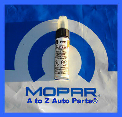 Dodge Ram,Challenger,Charger,Journey,Etc STONE WHITE (PW1) MOPAR Touch Up Paint