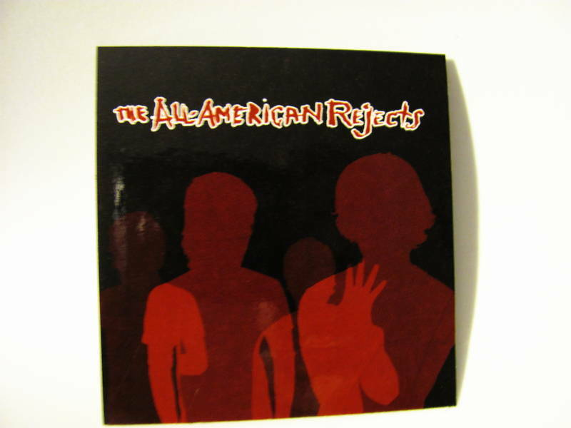 All-American Rejects Move Along Music  Sticker