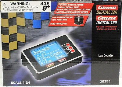 Carrera Digital 132 Lap Counter - Carrera 30355 Digital 132 Electronic Lap Counter for 1/24 & 1/32 Slot Car Tracks